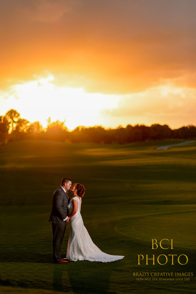 Inaugural Wedding in the Rusty Putter Cafe at the Fairwinds Golf Club