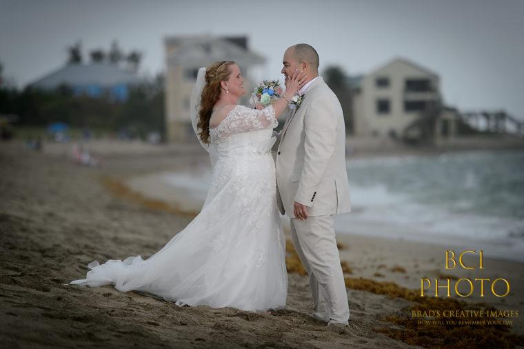 Bathtub Beach Wedding