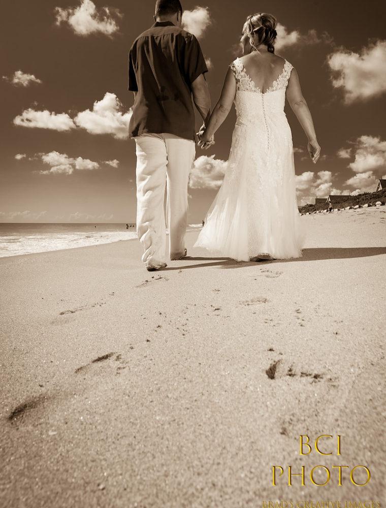 Disney's Vero Beach Resort hosts Destination Wedding on the beach.